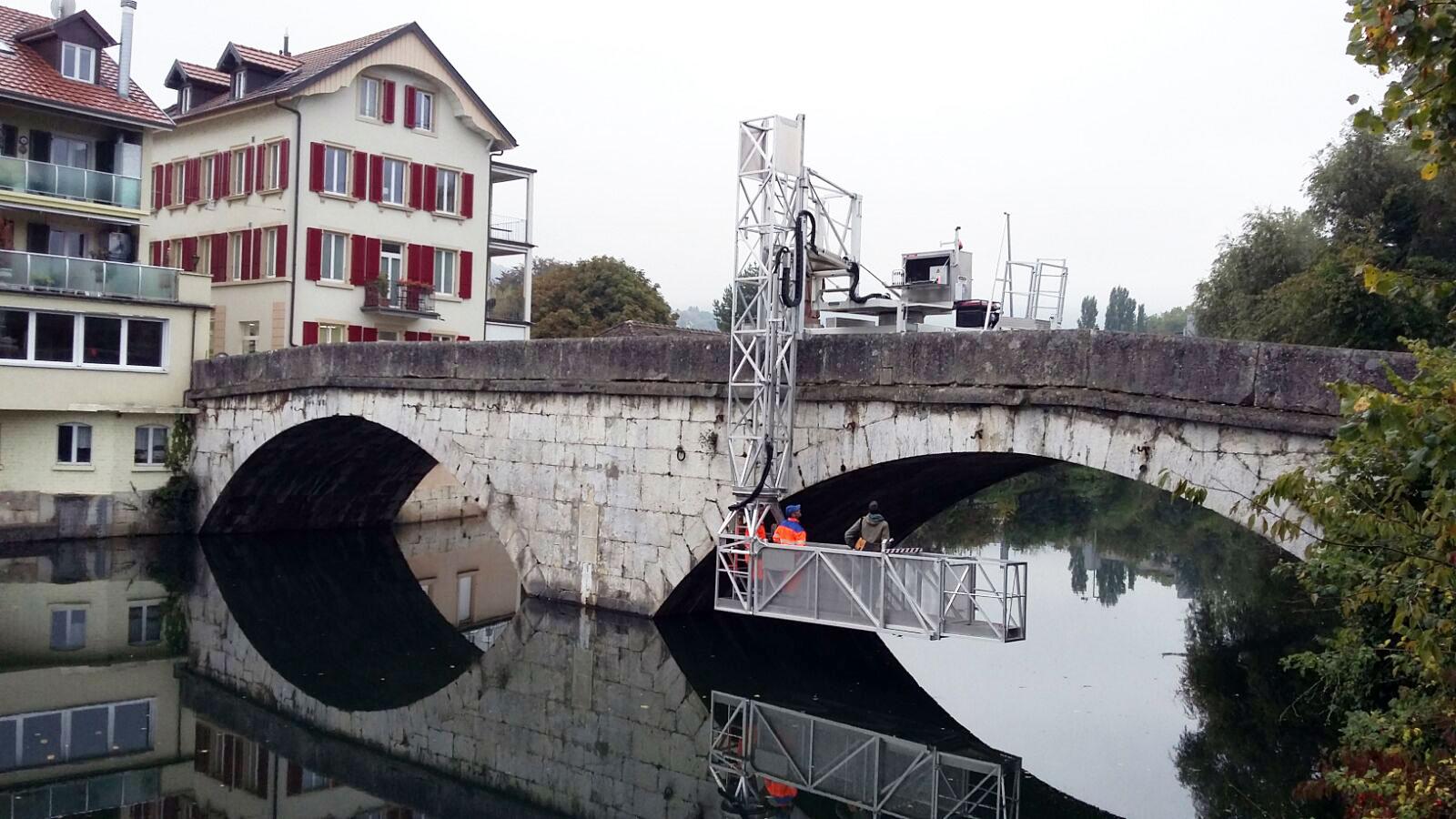 Brückenuntersicht